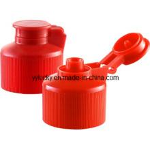 Bonne qualité bouchon Flip-Top en plastique PP bouchon (RD-503I)
