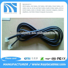 two core Phone Flat Phone Cable