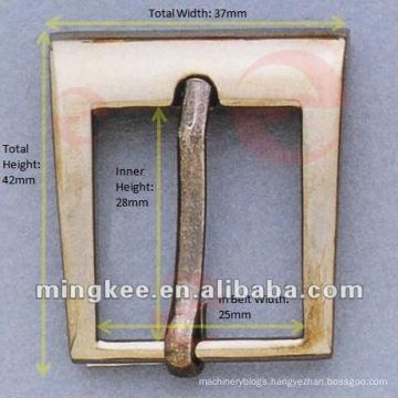 Gun Metal Belt / Bag Buckle (M16-239A)
