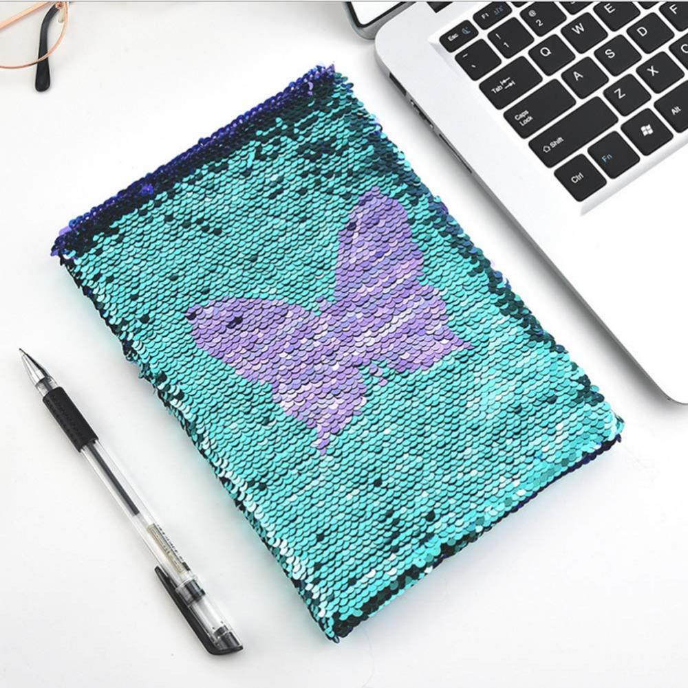 Butterfly Reversible Sequin Notebook 2