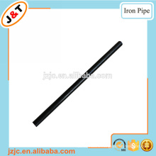 16mm painting black hollow metal iron rod