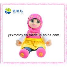 Einzigartiges Sprechende Moslem-Mädchen-Spielzeug-Puppe (XMD-F022)