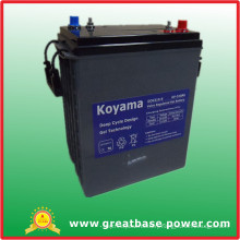 Automotive Terminal Deep Cycle Gel Golf Cart Battery 310ah 6V