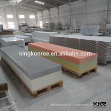 Feuille de surface solide acrylique de lave de pierre avec l'épaisseur différente