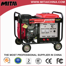Gasoline Arc Welding Machine Specifications with Single Phase Motor