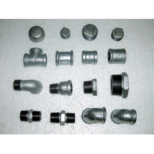 galvanized black malleable iron pipe fittings dimensions