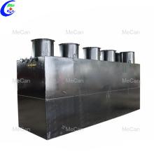 Station de traitement des effluents conteneurisés de haute qualité