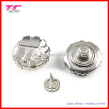 Double Prong Metal Button