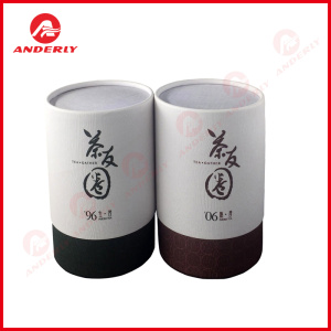 Customized Eco-friendly Tea Coffee Packaging Paper Tube