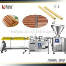 2015 Fácil de operar y alta capacidad de línea de producción de salchicha automática