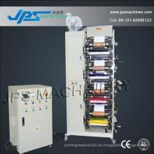 Máquina de impresión flexográfica de tela no tejida Jps320-4c