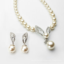 Fashion Pearl Necklace Jewelry Set Ab101