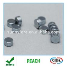 zinc plated round neodymium magnets n52,n54
