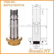 Válvula solenoide de drenaje automático con goma