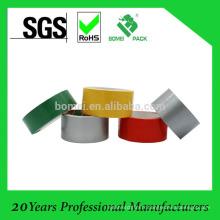 Bande colorée faite sur commande de conduit de tissu, bande résistante d'emballage