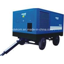 Compresor de tornillo de pistón portátil eléctrico de aplicación al aire libre (PUE132-08)