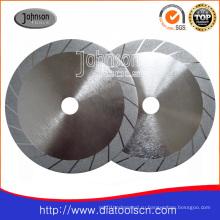 Od200mm Гальванизированный алмазный пильный диск для резки