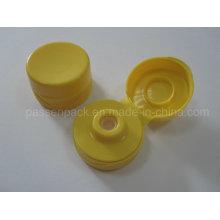 31/400 Gelbe Silikon-Ventilkappe für Kunststoff-Quetschflasche (PPC-PSVC-008)
