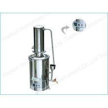 Destilador de agua de acero inoxidable con ruptura de agua y autocontrol DZ-20L
