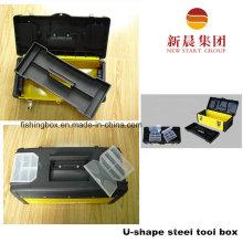 U форму черного & желтого цвета стали Инструмент Box