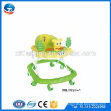 El vendedor caliente al por mayor China nuevo modelo que rueda el balanceo rueda el caminante del bebé