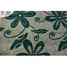 Tela 100% barata de la tapicería de la tela del sofá de la chenilla del telar jacquar del poliéster