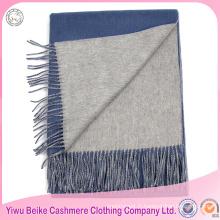 Mongolie origine usine offre couleur unie hiver écharpe en laine de cachemire