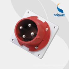 Fiches et prises industrielles de haute qualité Saip / Saipwell avec certification CE (16A, 32A, 63A, 125A, 250A, 420A)
