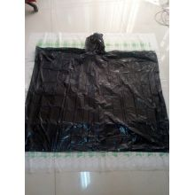 plastic rain cape  with logo