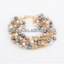 Las pulseras de la joyería de la manera pulseras del encanto pulsan los brazaletes de la pulsera