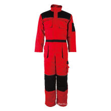 Reflective piping Red Winter Overall