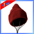 Wholesale Cheap Polyester Plain Winter Beanie Hat