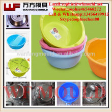 round plastic tubs mould/OEM Custom round plastic injection tubs mold made in China