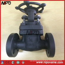 API 6D Flanged End Forged Steel Gate Valve