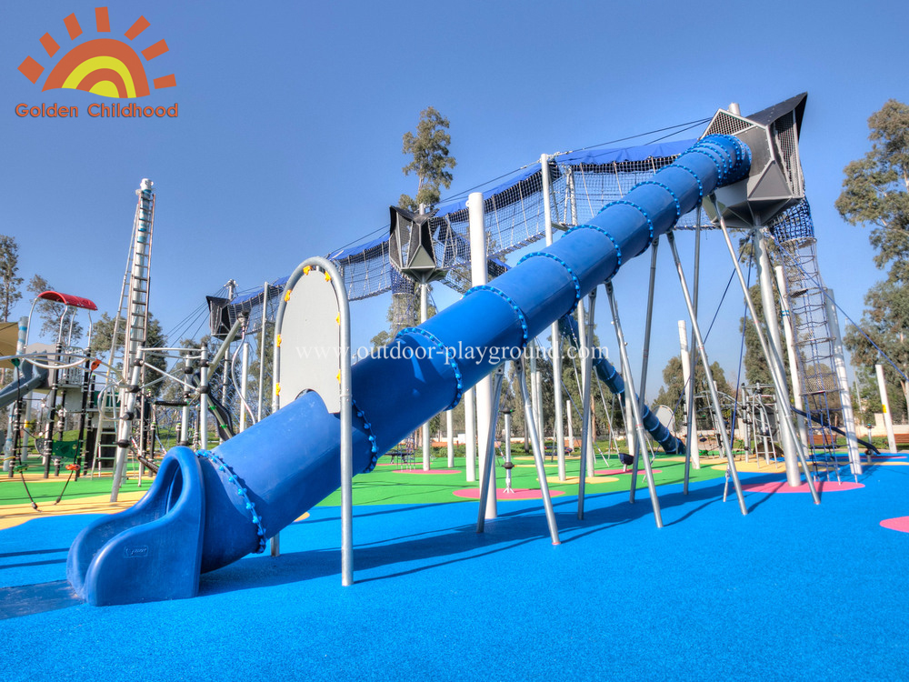 Spiral Tube Slide Playground