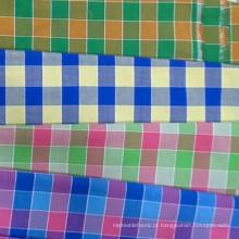 Tipos de tecido de tecido tingido fios