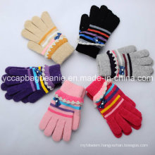 Magic Gloves/Girls Knitted Gloves/Lady′s Crlic Glives/Fashonal Witner Gloves/Winter Gloves