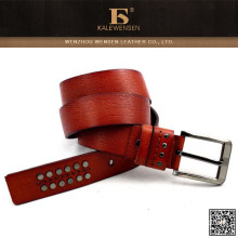 New style fashion design custom mens leather belts