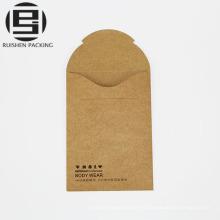 Sobre de papel de Kraft personalizado para ropa interior