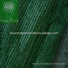 Rede de sombra de cor verde