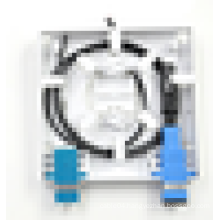 86 Type 2 Port FTTH Fiber Optic Face Plate,Fiber Termination Box