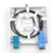 86 Type 2 Port FTTH Волоконно-оптическая лицевая панель, оконечная нагрузка волокна
