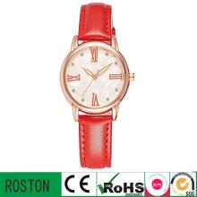 Relógio de moda senhora com pulseira de couro