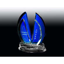 Cobalt crystal award