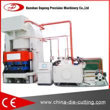 Presse hydraulique de type en spirale de fil d'acier pour la platine d'échangeur de chaleur
