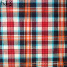 Хлопок Поплин тканые пряжи, окрашенной ткани для одежды рубашка/платье Rls40-43po