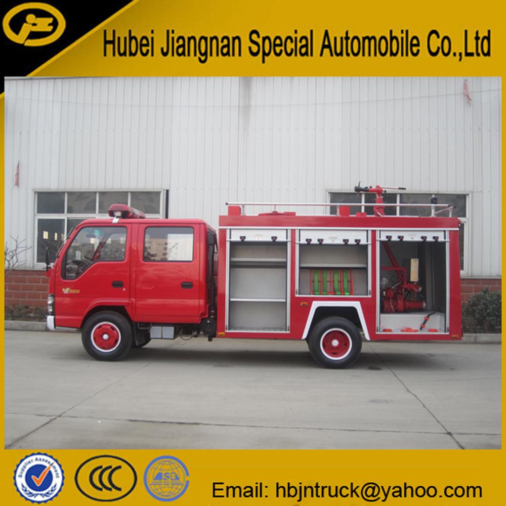 Isuzu fire fighting truck price