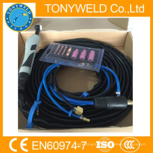 High quality gas cooled welding tig torch WP-18 torch