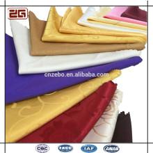 China al por mayor multi-color plegado de algodón / servilletas de poliéster para bodas
