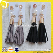 China Supplier Wedding Dresses grayTassel Earring